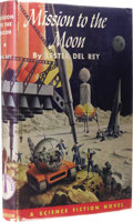 Books:First Editions, Lester del Rey: Mission to the Moon. Edited by CecileMatschat. (Philadelphia: The John C. Winston Company, 1956),first...