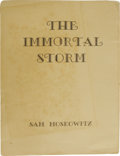 Books:First Editions, Sam Moskowitz: The Immortal Storm: A History of Science FictionFandom. (np: Sam Moskowitz, 1951), no statement of editi...