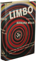 Books:First Editions, Bernard Wolfe: Limbo. (New York: Random House, 1952), firstedition, 438 pages, black cloth with yellow and green letter...