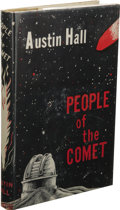 Books:First Editions, Austin Hall: People of the Comet. (Los Angeles: GriffinPublishing House, 1948), first edition, 131 pages, brown cloth w...