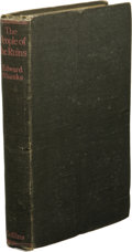 Books:First Editions, Edward Shanks: The People of the Ruins. (London: W. CollinsSons & Co. Ltd., 1920), first edition, 290 pages, dark gray ...