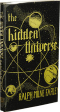 Books:First Editions, Ralph Milne Farley: The Hidden Universe. (Los Angeles:Fantasy Publishing Co., Inc., 1950), first edition, 134 pages,bl...