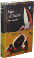 Books:First Editions, Lester del Rey: Moon of Mutiny. (New York: Holt, Rinehartand Winston, 1961), first edition, 217 pages, bound in blue-gr...