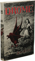 Books:First Editions, John Martin Leahy: Drome. Illustrated by John Martin Leahy.(Los Angeles: Fantasy Publishing Company, Inc., 1952), first...