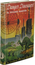 Books:First Editions, Richard Marsten: Danger: Dinosaurs!. (Philadelphia: The JohnC. Winston Company, 1953), first edition, 210 pages, green ...