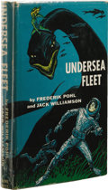 Books:First Editions, Frederik Pohl and Jack Williamson: Undersea Fleet. (NewYork: Gnome Press, 1956), first edition, 187 pages, dust jacket ...