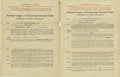 Autographs:Others, 1927-28 St. Louis Cardinals Uniform Player's Contracts Lot of 2.Pair of fully executed National League contracts secure th...