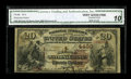 National Bank Notes:Kentucky, Richmond, KY - $20 1882 Brown Back Fr. 498 The Richmond NB Ch. #4430. This discovery piece raises the population of sur...