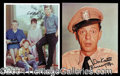 Autographs, The Andy Griffith Show Signed Photo Lot