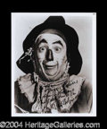 Autographs, Ray Bolger Signed Wizard of Oz Photograph