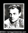 Autographs, James Cagney Signed 8 x 10 Photo