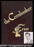 Autographs, Johnny Carson 1948 College Yearbook