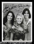 Autographs, Charlie's Angels Cast Signed Photo