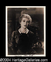 Dolores Costello Signed 8 x 10 Photograph - Vintage 8 x 10 black and white glossy photograph, uniquely signed twice by C...