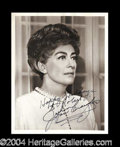 Autographs, Joan Crawford Signed 8 x 10 Photograph