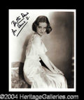 Autographs, Bette Davis Beautiful Signed Photo
