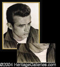 Autographs, James Dean Scarce Signed Photo from Rebel Without A Cause