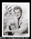 Autographs, Kirk Douglas Choice Signed Photo