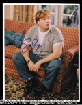 Autographs, Chris Farley Signed 8 x 10 Photograph