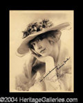 Autographs, Lillian Gish Vintage Signed Photograph