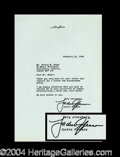 Autographs, Jackie Gleason Typed Letter Signed