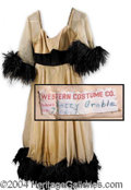 Autographs, Betty Grable Rare Stage Worn Wardrobe