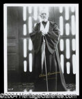 Autographs, Alec Guinness Signed Star Wars 8 x 10 Photo
