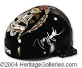 Autographs, Tony Hawk Signed Skateboarding Helmet