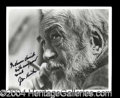 Autographs, John Huston Signed 8 x 10 Photograph