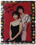 Autographs, Laverne & Shirley Dual Signed Photo