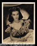 Autographs, Vivien Leigh Signed Photo from Gone With The Wind!