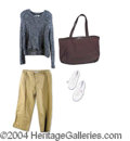 """Autographs, Jennifer Lopez Full Screen Worn Outfit from """"Enough"""""""