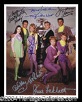 Autographs, Lost In Space (TV) Cast Signed Photo