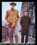 Autographs, Midnight Cowboy Hoffman/Voight Signed Photo