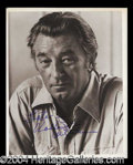 Autographs, Robert Mitchum Signed 8 x 10 Photograph