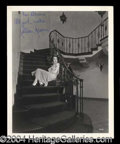 Autographs, Colleen Moore Signed Bull Photograph