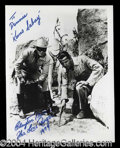 Autographs, Clayton Moore Signed Lone Ranger Photo