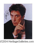 Autographs, Al Pacino Rare Full Signed Photograph