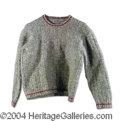 Autographs, Sean Penn Worn Sweater From Film