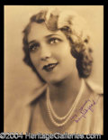 Autographs, Mary Pickford Vintage Signed Photograph