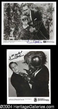 Autographs, Vincent Price Signed Photo Lot