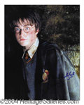 Autographs, Daniel Radcliffe Harry Potter Signed Photo