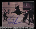 Autographs, Keanu Reeves Signed Matrix Reloaded Photograph