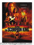 Autographs, The Rock Rare Signed Scorpion King Press Kit