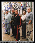 Autographs, The Sopranos Cast Signed 8 x 10 Photo