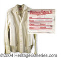 Autographs, Sylvester Stallone Movie Worn Shirt