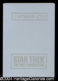 Autographs, Star Trek Next Generation Rare Crew Prop