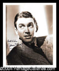Autographs, James Stewart Signed 8 x 10 Photograph