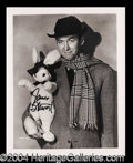Autographs, James Stewart Signed Harvey Photograph