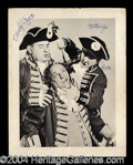 Autographs, The Three Stooges Rare Vintage Signed Photo